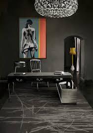 Chair Office Design Ideas Bloggers U0027 Office Decor Glam White Versus Mysterious Dark U2013 The