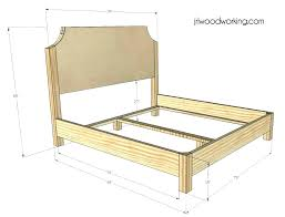 Bed Frame No Headboard Bed Frame Without Headboard Mirador Me