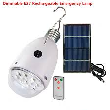 how to charge solar lights indoor rechargebal indoor lighting dimmable e27 led solar l with remote