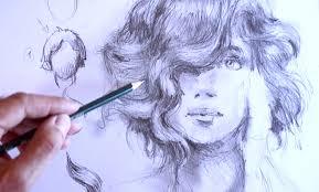 Frisuren Zeichnen Anleitung by Ganz Einfach Zeichnen Lernen 18 Haare Zeichnen