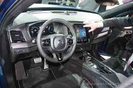 2016 volvo xc60 interior 2015 volvo xc90 r design interior at the 2015 detroit auto show
