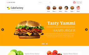 food themes wrapbootstrap
