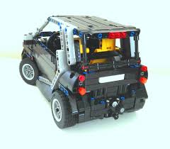 lego mini cooper porsche lego moc 2981 smart fortwo technic 2015 rebrickable build