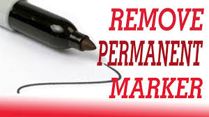 how to get permanent marker off table 15 ways to remove permanent marker how to remove permanent marker