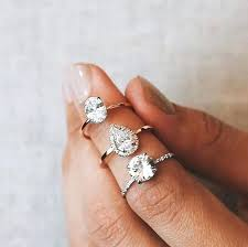 teardrop diamond ring tear drop diamond rings teardrop diamond studs placee