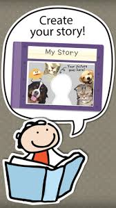 kid in story book maker create personalized stories with locolens