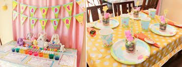 Easter Decorations For Party by Easter Crafts And Games Kids Easter Party Ideas At Birthday In A Box