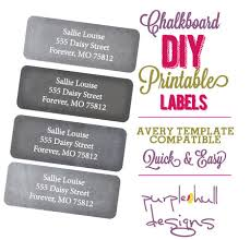 Avery Template 30 Labels Per Sheet Stickers Chalk Labels Chalkboard Address Labels