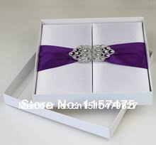 wedding invitations in a box buy silk wedding invitation boxes and get free shipping on