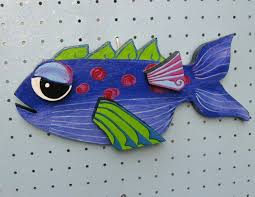 painted wooden fish wall stock images similar to id 3474064
