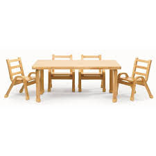 Toddler Table And Chairs Wood Angeles Naturalwood 12