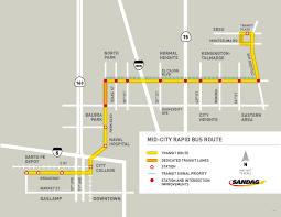 San Diego Trolley Map Meet Mid City U0027s New U0027diet Trolley U0027 Speak City Heights