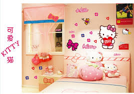 Hello Kitty Wall Mirror Wallpaper For Childrens Bedroom Picture More Detailed Picture