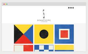 Semaphore Flags Jordan Amer Flags Up Semaphore London Identity Design Week