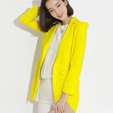 style 2015 spring women blazer designer candy neon colored blazers