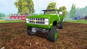 K5 Chevy Blazer Mud Truck - chevrolet k5 blazer m1008 for farming simulator 2015