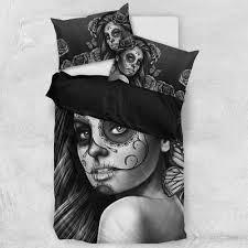 Day Of The Dead Bedding Day Of The Dead U0027 Calavera Bedding Set