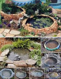 tire pond diy is perfect for your yard tractor tire fish ponds