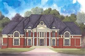 colonial luxury house plans colonial luxury home with 4 bdrms 8100 sq ft floor plan 106 1262