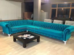 turquoise velvet chesterfield sofa exclusive design ideas