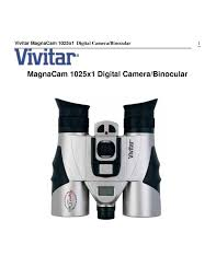 vivitar magnacam 1025x1 camera user guide manual