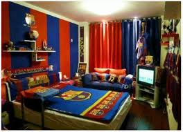 cool boys bedroom decoration with fc barcelona theme home design cool boys bedroom decoration with fc barcelona theme