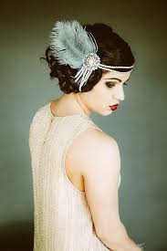 how to make a 1920s hairpiece blog post by elvira decuir the great gatsby inspired wedding this