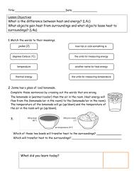 all worksheets heat and light worksheets printable worksheets