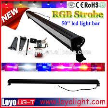 multi color led light bar 4x4 led driving light bar strobe rgb 50 led light bar 288w aurora
