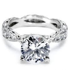 unique princess cut engagement rings wedding rings sculpted crescent wedding band tacori dantela