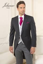 johann jaquette de mariage et pantalon gris é - Jaquette Mariage