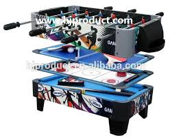 3 in 1 air hockey table factory manufacturer classic design durable 3 in 1 pool soccer air