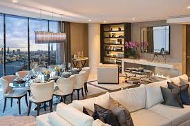 congratulations to the london furnishing company who have been hepworth 3 bedroom show apartment dining area