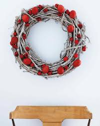 Easter Decorations By Martha Stewart by Red Egg Wreath For Easter Martha Stewart