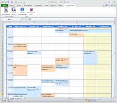 Schedule In Excel Template Event Planning Template Excel
