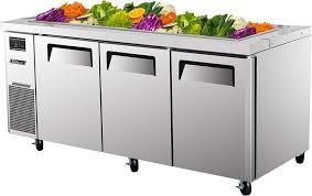 air jbt 72 cold food refrigerated buffet display table 15 1 3
