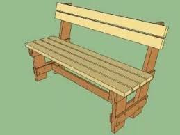Free Wood Bench Plans by Outdoor Bench Plans Treenovation