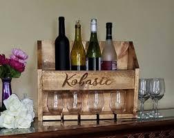 custom wine rack etsy