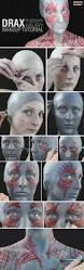 bald cap spirit halloween drax guardians of the galaxy makeup tutorial wholesale halloween