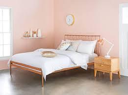 Bed Frames Domayne The Sleek And On Trend U0027coppa U0027 Bed Frame Domayne Australia