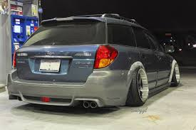 stanced subaru wonder wagon saul sanchez u0027s lifted subaru outback crankshaft
