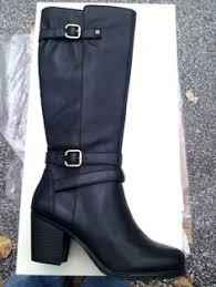 womens boots size 9 1 2 wide naturalizer womens wide calf jayln wc black lea size 7 1 2 ww
