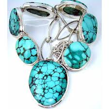 turquoise silver necklace jewelry images Lilyanna sterling silver turquoise necklace 925 sterling silver jpg