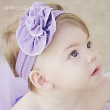 headband for babies baby cotton lavender flower infant toddler headband baby