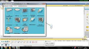 setting up simple network on cisco packet tracer basic youtube