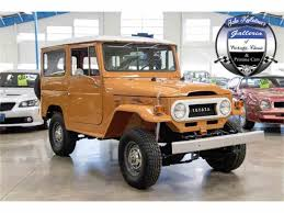 classic land cruiser for sale 1973 toyota land cruiser fj for sale classiccars com cc 966120