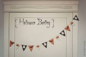 free printable halloween bunting u0026 flags nifty thrifty things