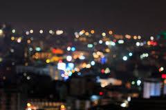 defocused lights at stock image image of mansion 32483265