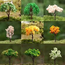 aliexpress buy 3pcs artificial tree yellow miniatures