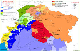 Map Of India by Historical And Political Maps Of India